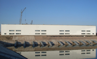 Main Pump Station for Water Supply System in Turkmenistan