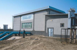 Integrated equipment turnkey installation for Shur-channel pumping station, Uzbekistan